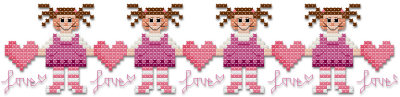 Annies cross stitch pattern by Jennifer Creasey